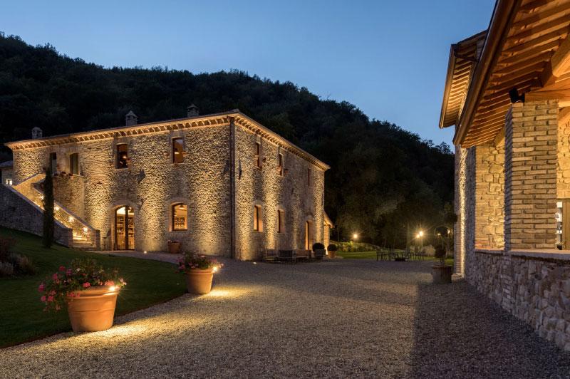 illuminazione per esterni Illux a Perugia e in Umbria