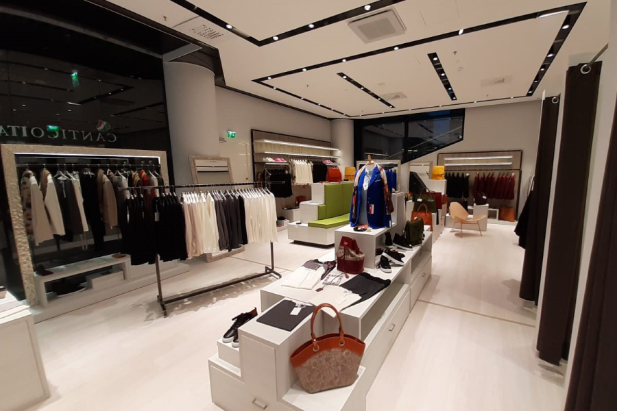 illuminazione negozi e attività commerciali