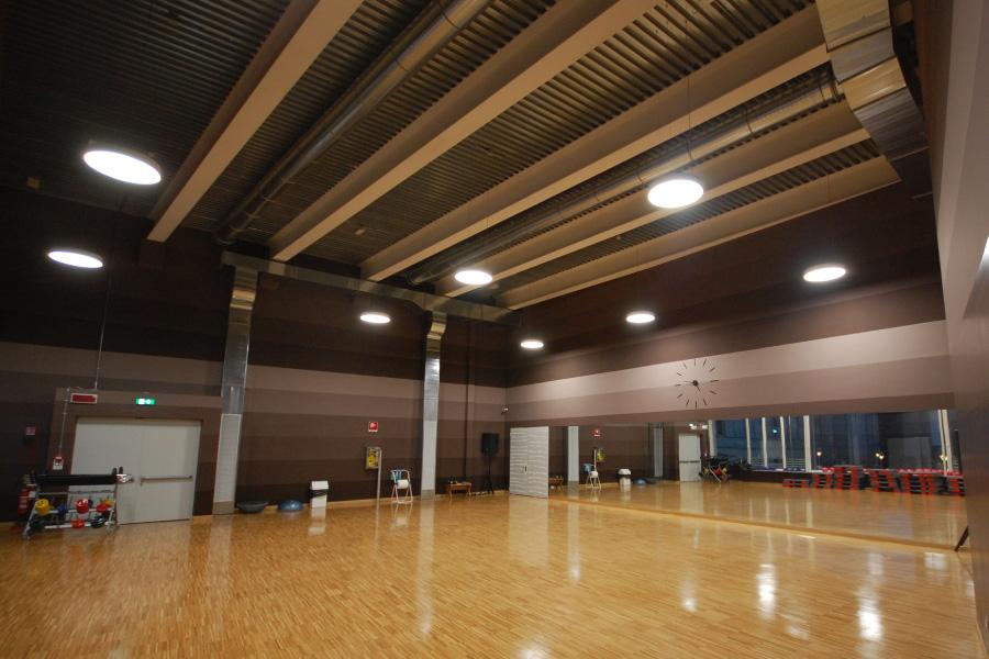 illuminazione palestre e luoghi dedicati al fitness