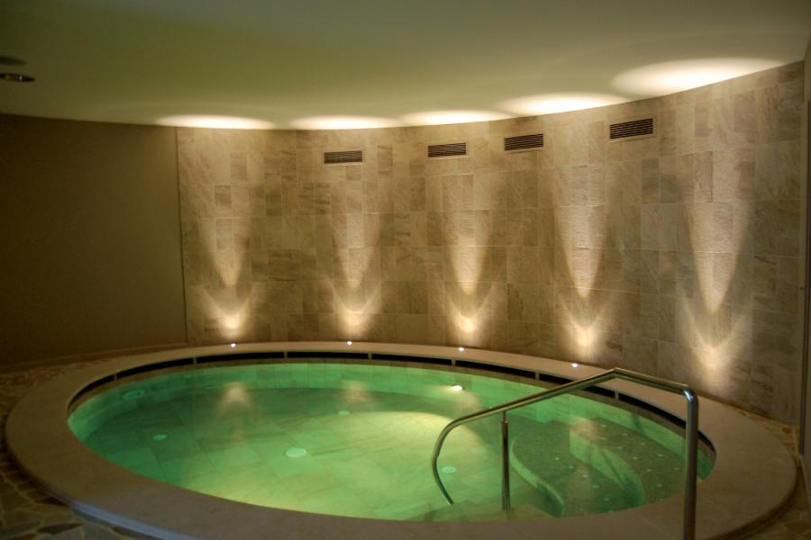 illuminazione per spa e centri benessere